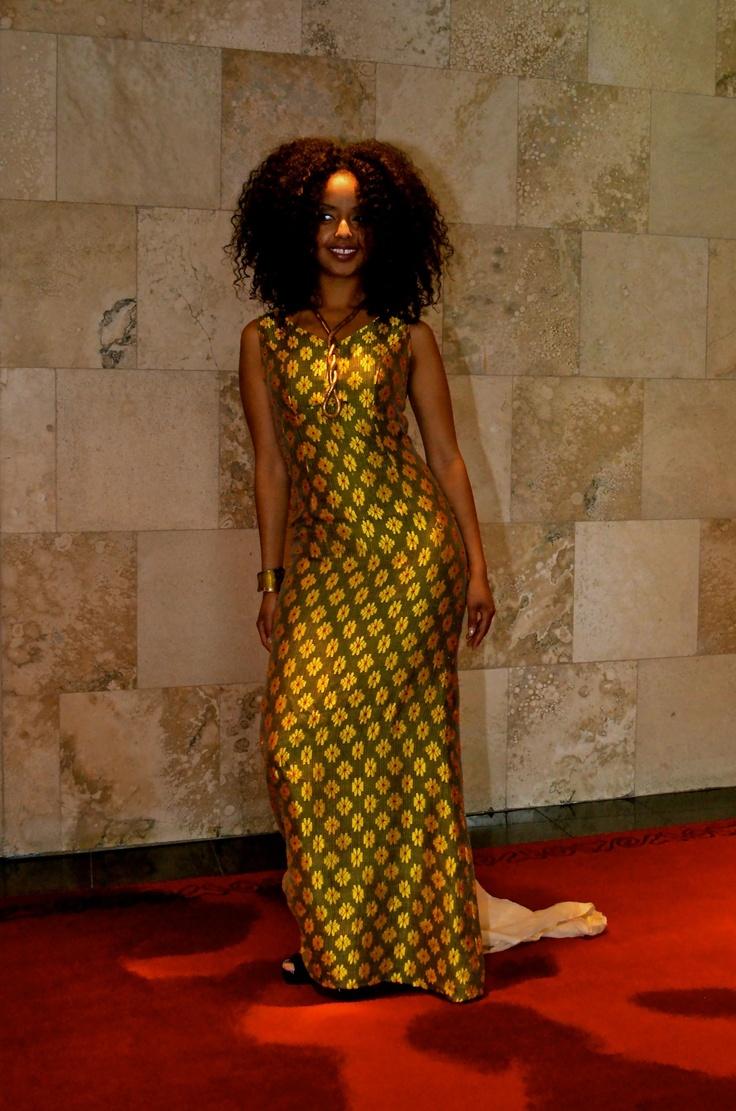 ethiopian tranditional dress ethiopian wedding dress Ethiopian Fabrics Dress designed by Tifishet Takele Photo By Impidia Studio Makeup by