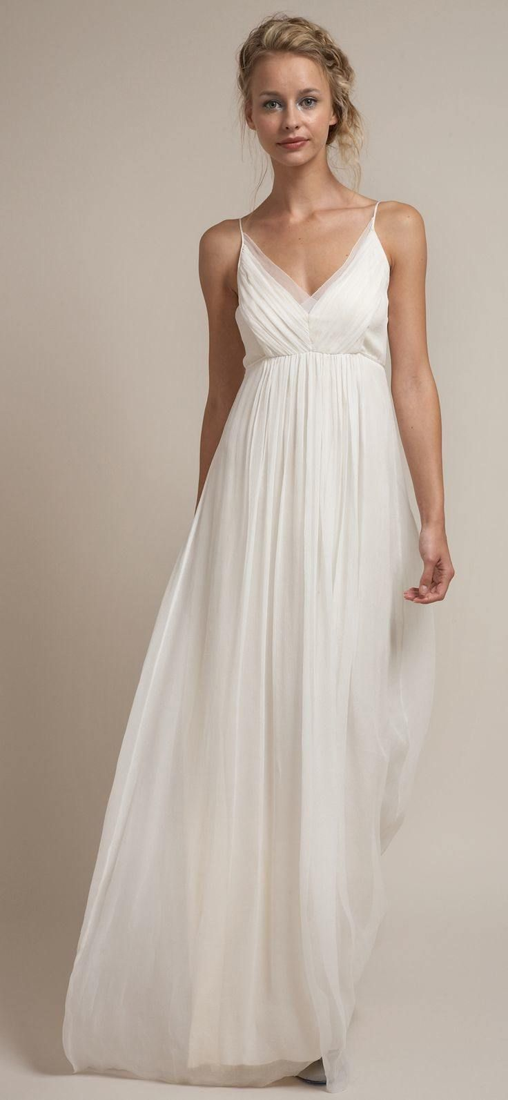casual wedding dresses casual dresses for wedding Casual Wedding Dresses For The Minimalist