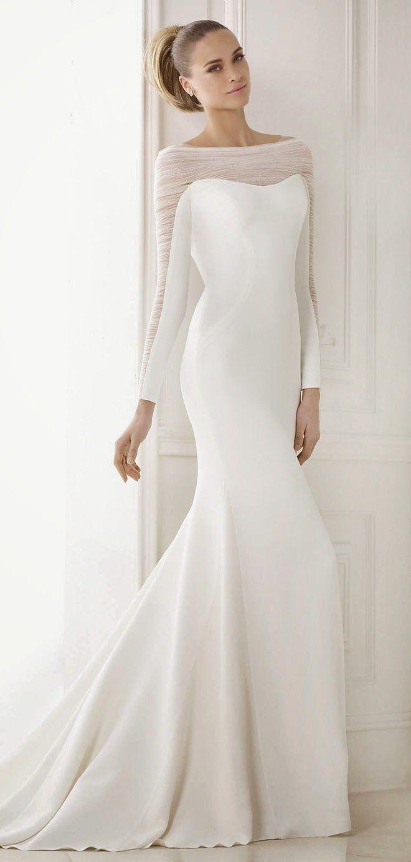 pronovias bridal sexy wedding dresses Pronovias Bridal Collections Part 1