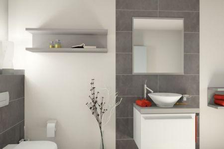 gestaltung badezimmer fliesen, Wohnideen design