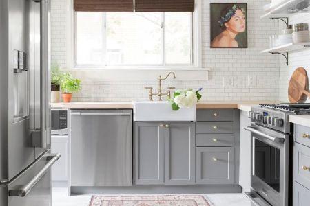 b322807deb46530dcd76cceb6b1e37d2 gray kitchens small kitchens