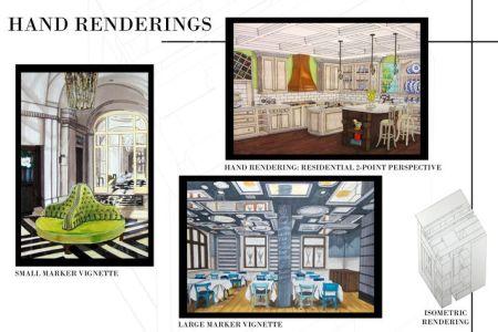 interior design student portfolio | asid | decorating