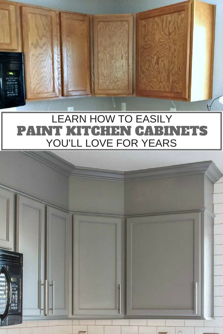 updating kitchen cabinets repainting kitchen cabinets How to Easily Paint Kitchen Cabinets You Will Love
