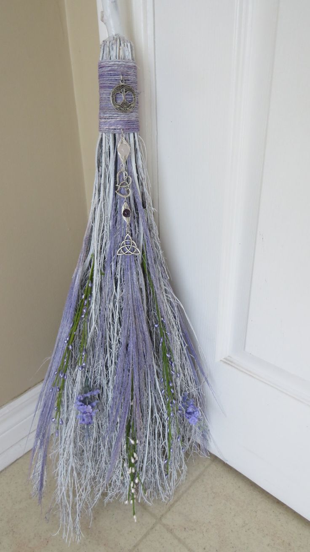 wedding brooms wedding brooms Lavender Wedding Broom Handfasting BesomWiccan by WayOfTheCauldron