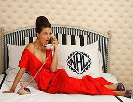 monogrammed pillowcases are like the 12,854th priority in my life, but I still really want them.