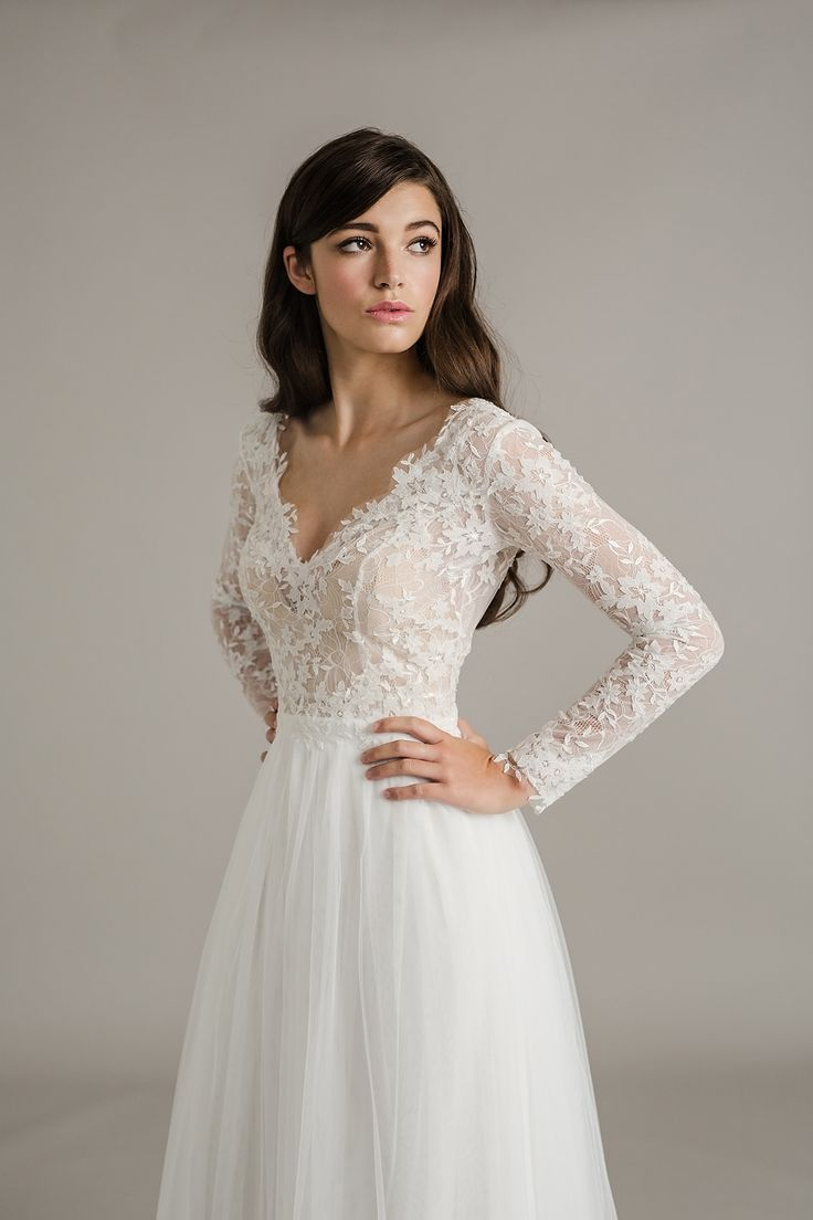 lace sleeve wedding dress lace sleeves wedding dress The Stunning Sally Eagle Wedding Collection Wedding Dresses With LaceLovely