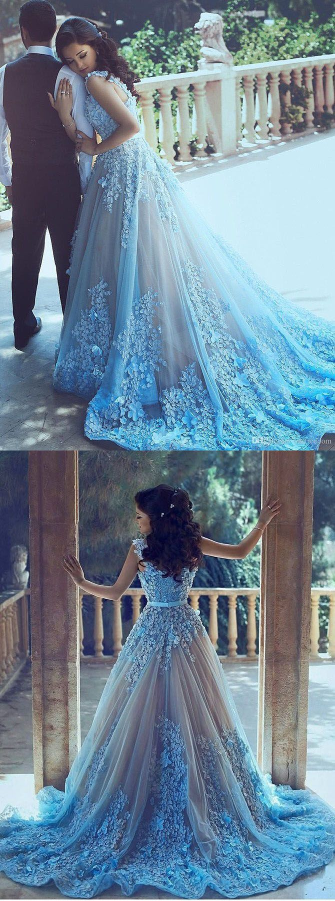 blue wedding dresses blue wedding dresses A Line Wedding Dresses Blue Wedding