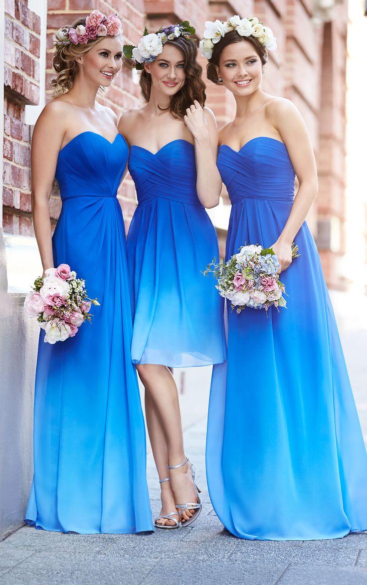 royal blue bridesmaids blue wedding dresses 25 Best Ideas about Royal Blue Bridesmaids on Pinterest Royal blue flowers Cobalt blue weddings and Cobalt wedding
