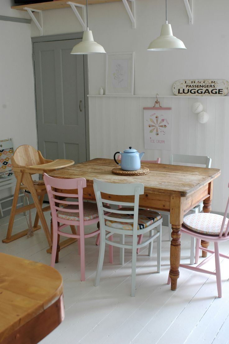 kitchen chairs kitchen dining chairs kitchen renovation tour Shabby Chic Dining ChairsRoom