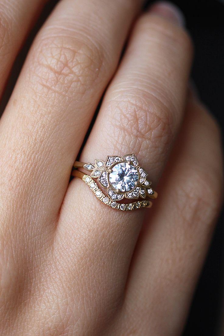 engagement rings unique unique wedding rings 25 Best Ideas about Engagement Rings Unique on Pinterest Unique wedding rings Wedding ring and Love shape