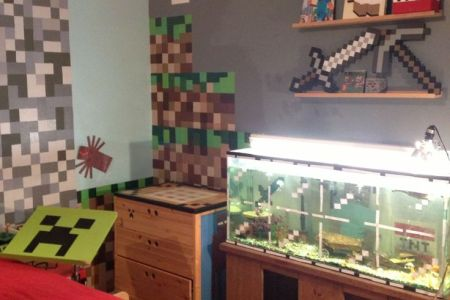 minecraft diy | minecraft bedroom | pinterest