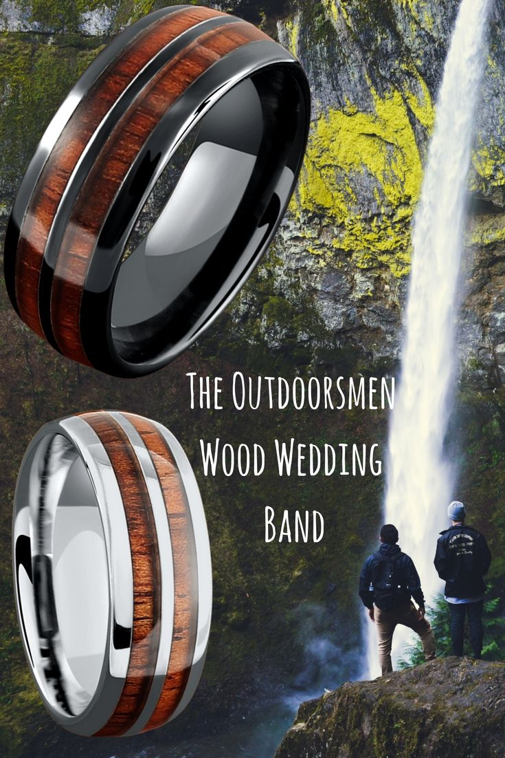 wupples weddings pins outdoorsman wedding band The true outdoorsmen wood wedding band This wood wedding rings is both extremely durable and