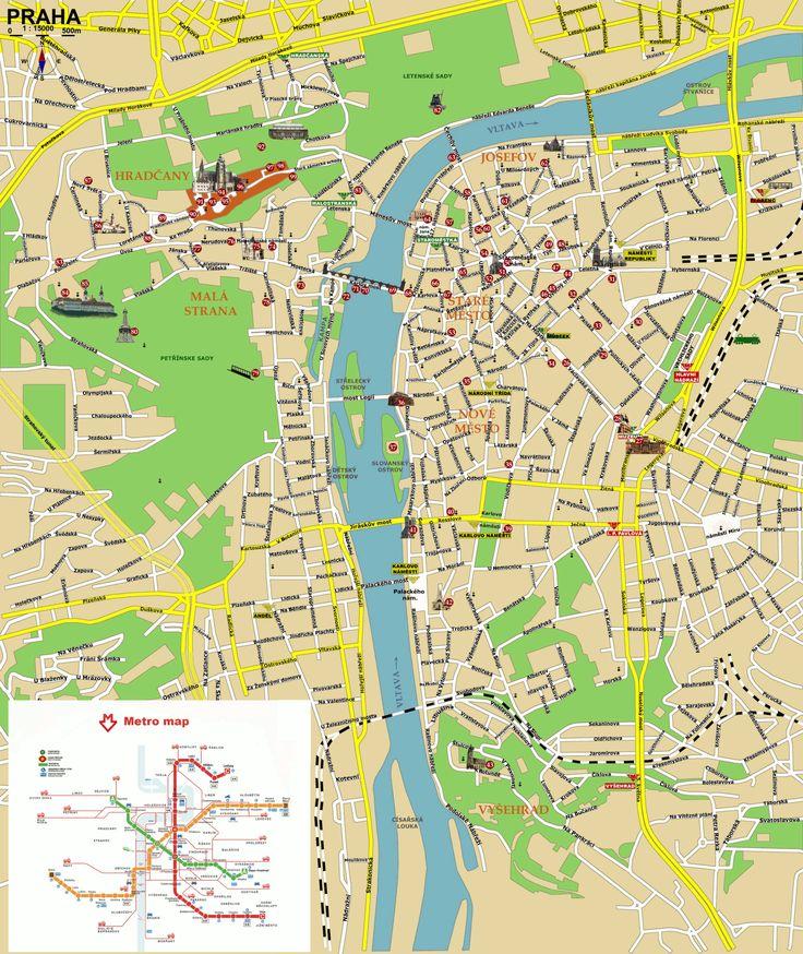 map prague czech