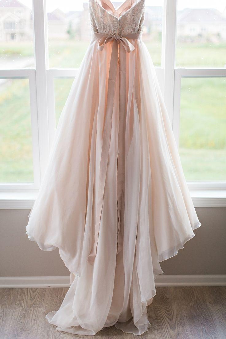 blush pink wedding dress wedding dress com Photography Booth Photographics www boothphotographics com Wedding Dress Marah s Elegant Bridal