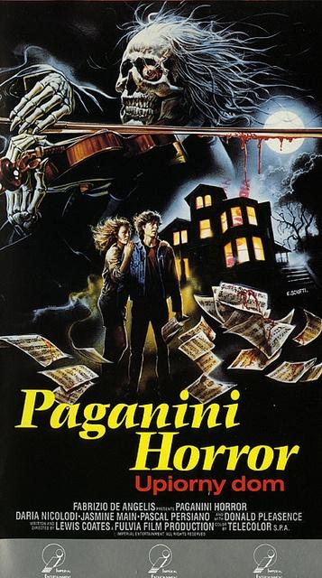 Poster do filme Paganini Horror