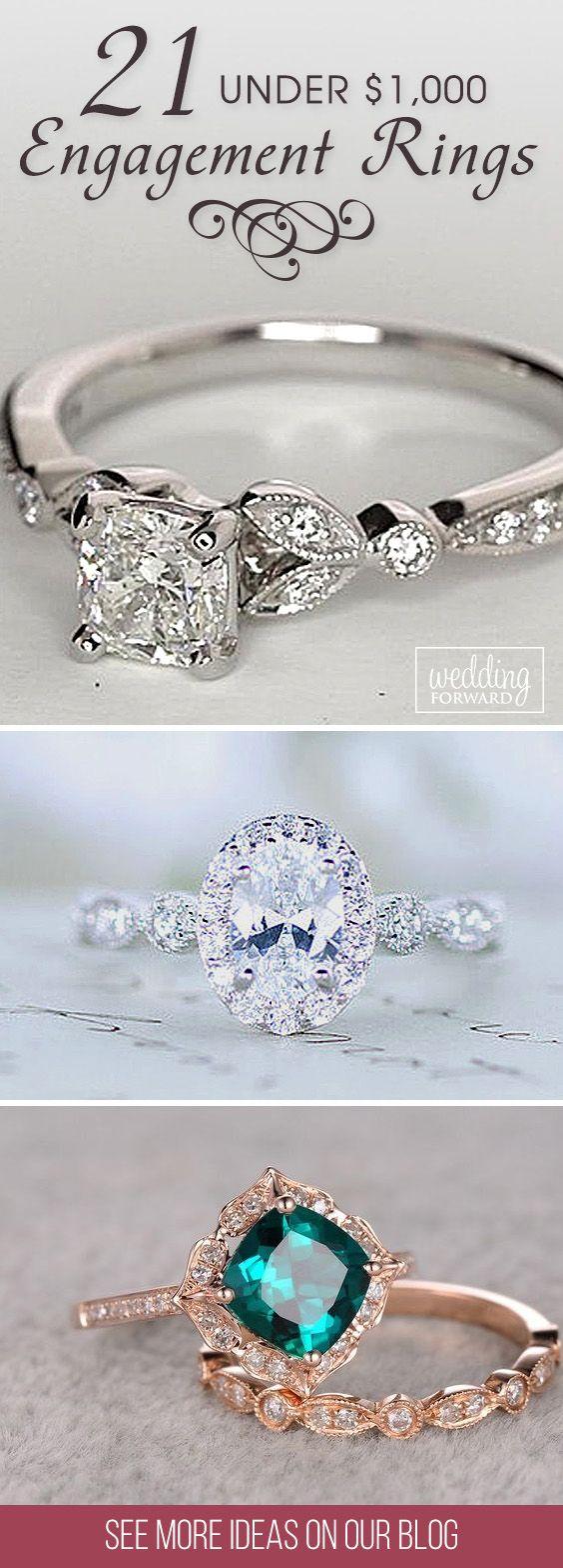 budget friendly engagement rings wedding rings under 21 Budget Friendly Engagement Rings Under 1