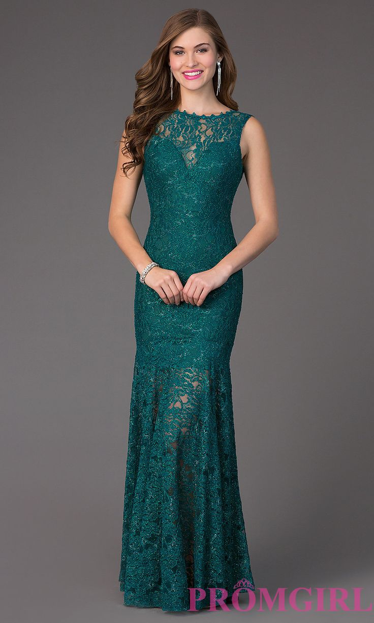 wedding teal dresses for wedding Formal Glitter Lace Dress with Illusion High Neck