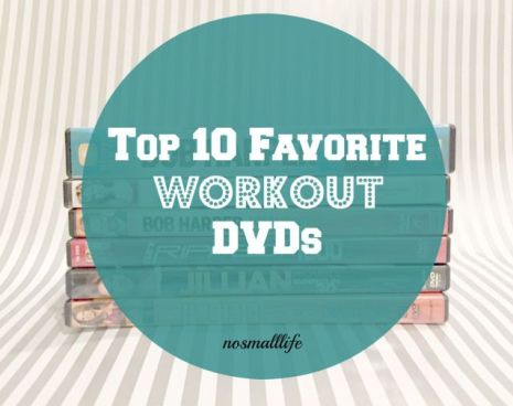 Sometimes it is just easier to work out at home than go to the gym or get outside in the cold. Here are 10 awesome workout DVDs to try. #fitness #workout