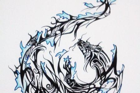 e790cca6635e276183775e60046f6c3a dragon tattoo designs dragon tattoos