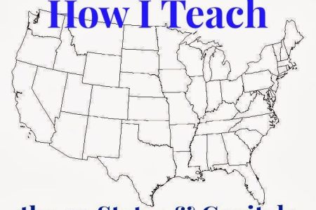 learning the 50 states, their capitals, and their map