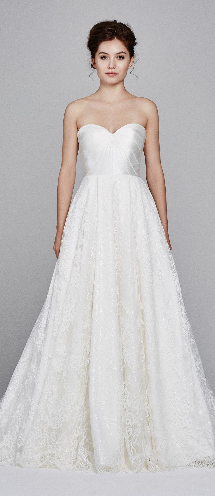 wedding dresses wedding dress with straps Wedding Dress by Kelly Faetanini Fall