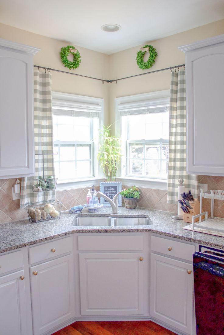 kitchen window curtains kitchen window ideas Kitchen Window Treatments