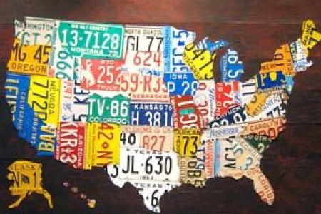 usa license plates map | interesting images from web