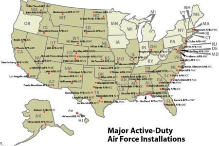 map of all military bases in us