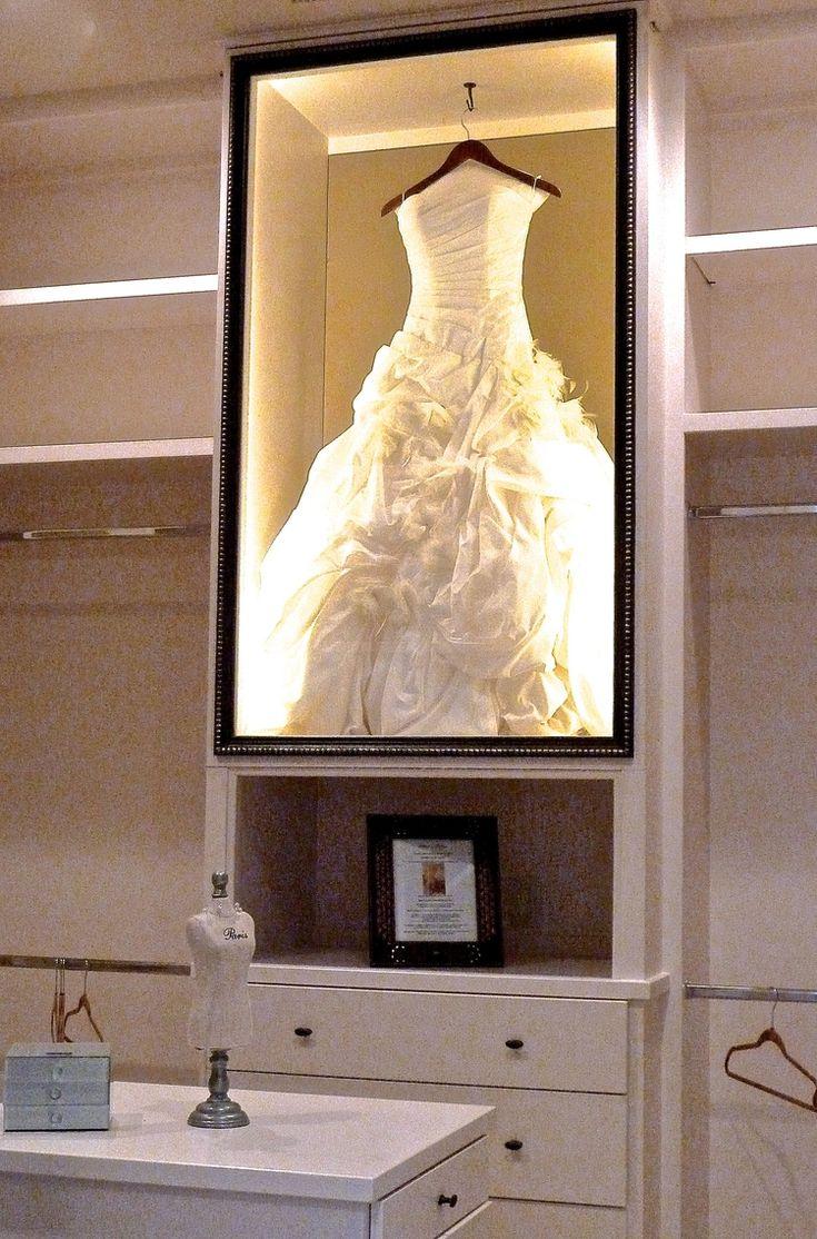 wedding dress display wedding dress storage box Not Your Grandmother s Closet Wedding Dress FrameWedding Dress StorageWedding