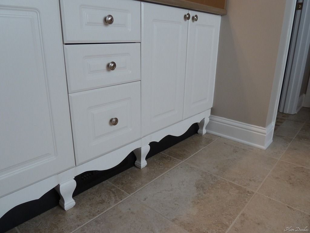 add legsfeet to furniture kitchen cabinets with legs DIY Furniture Style Cabinet