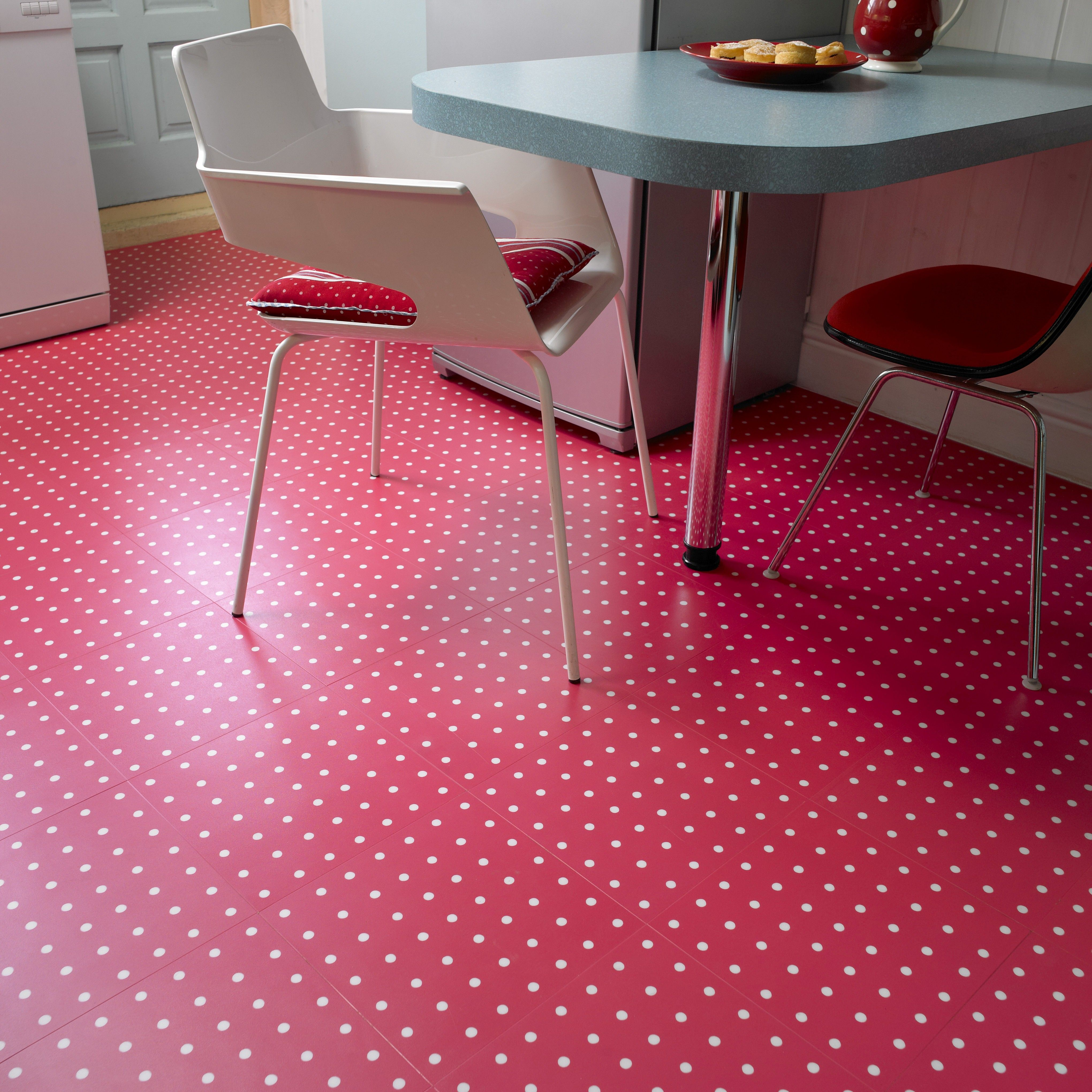 kitchen vinyl flooring Vinyl flooring enables a multitude of designs including concepts inspired by vintage s kitchens