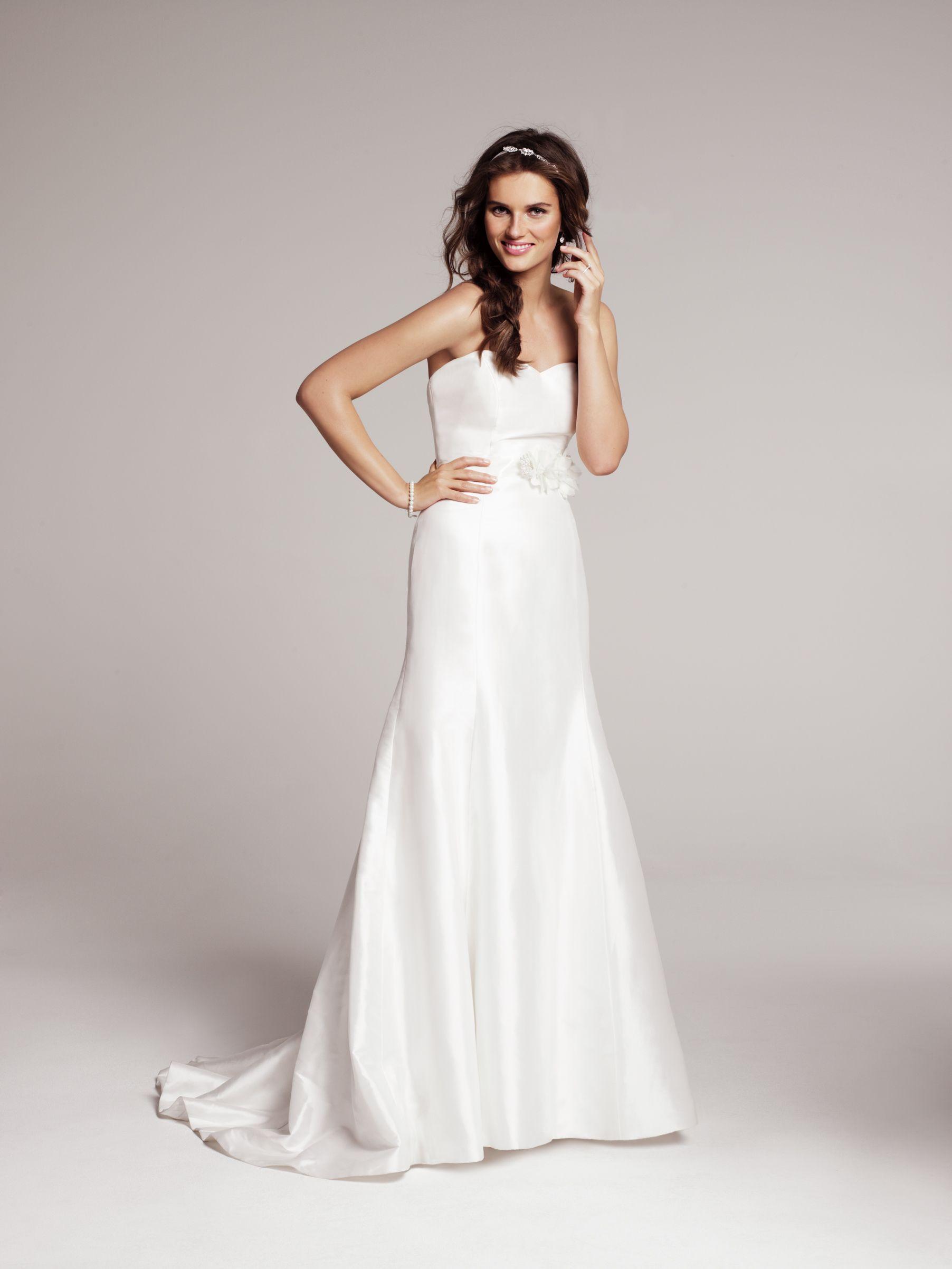 nordstrom wedding dresses Heidi Elnora Coco Marie Strapless Silk Gown Nordstrom