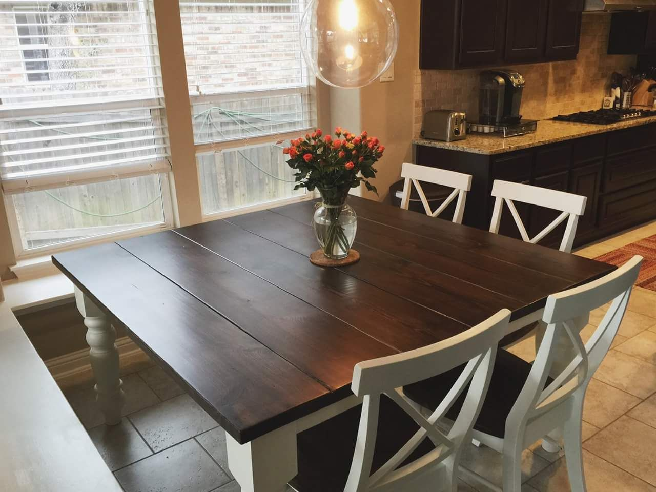 farm table kitchen square dining table with side tables to extend the size Brilliant The side tables can be used as a buffet table or couch table until needed to ex