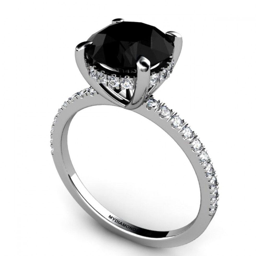womens diamond wedding rings black diamond engagement ring Google Search