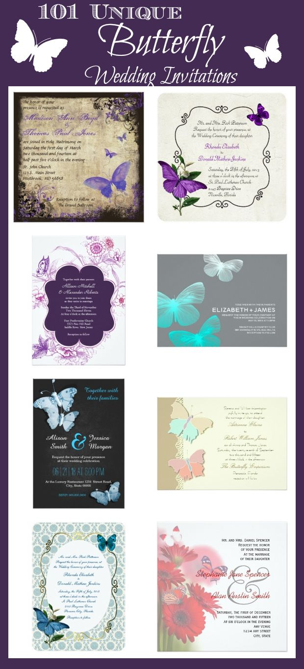 butterfly wedding invitations Unique Butterfly Wedding Invitations for the perfect butterfly wedding theme These personalized butterfly wedding