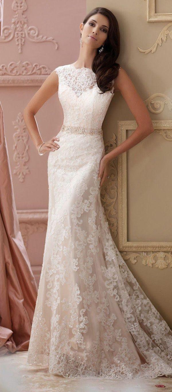 the perfect wedding dress Lace wedding dresses