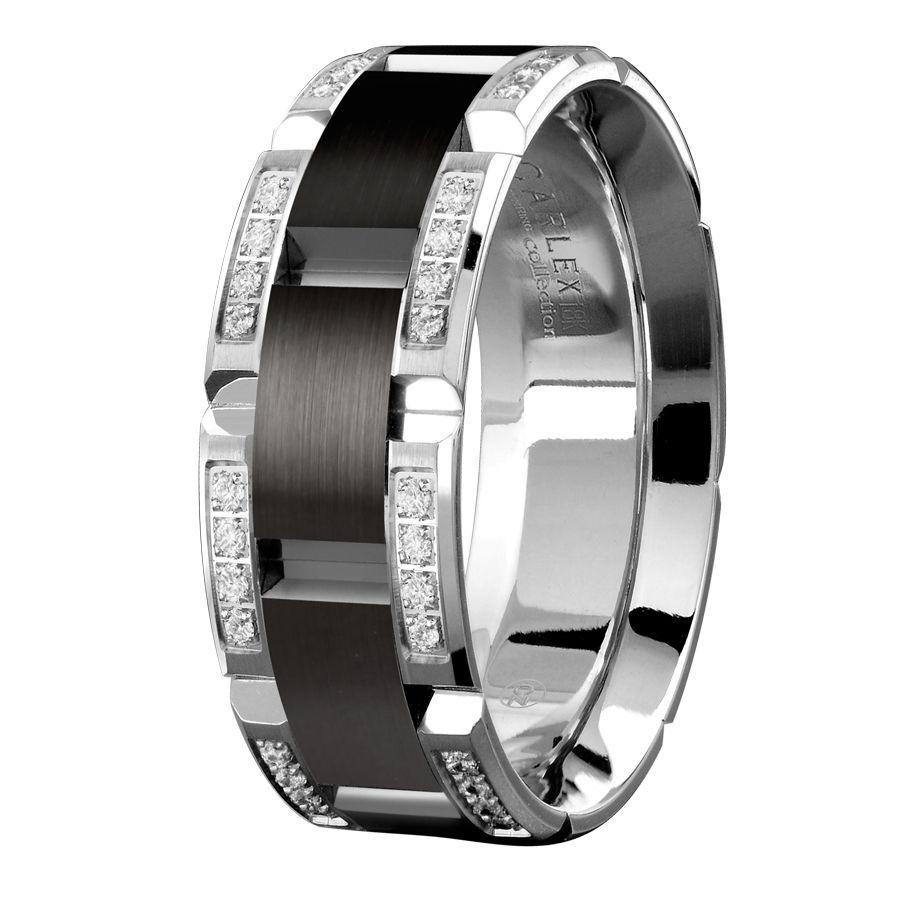 black mens wedding rings rose gold mens wedding band