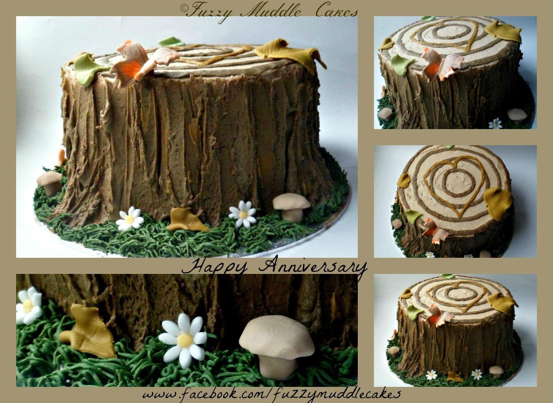 5th wedding anniversary Anniversary Cakes Anniversary cake 5th wedding anniversary which is wood but