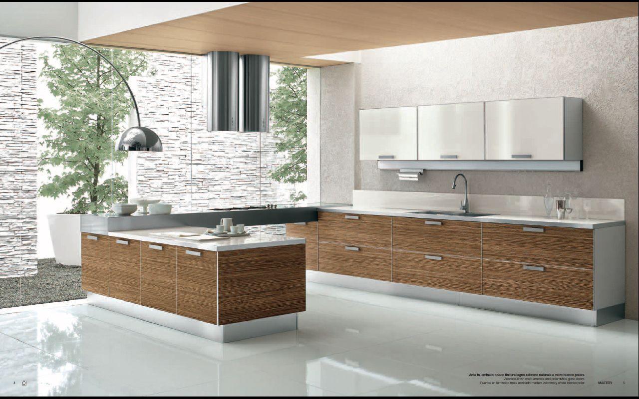 kitchens designs Designs from Berloni Master Club Modern Kitchen Interior