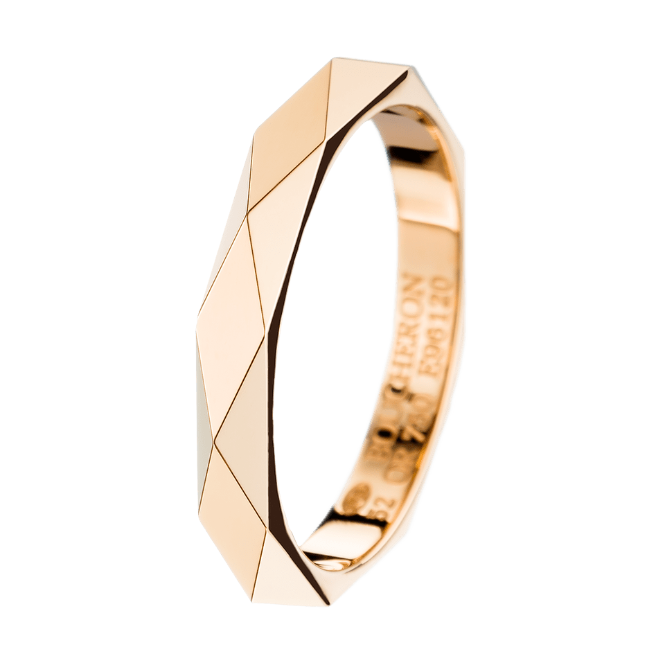 gold wedding bands Facette yellow gold Wedding Band a Maison Boucheron Bridal creation A Boucheron creation tells a Story that of the Maison and your own