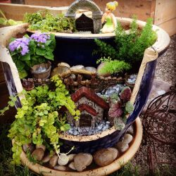 Small Of Fairy Gardens In Pots