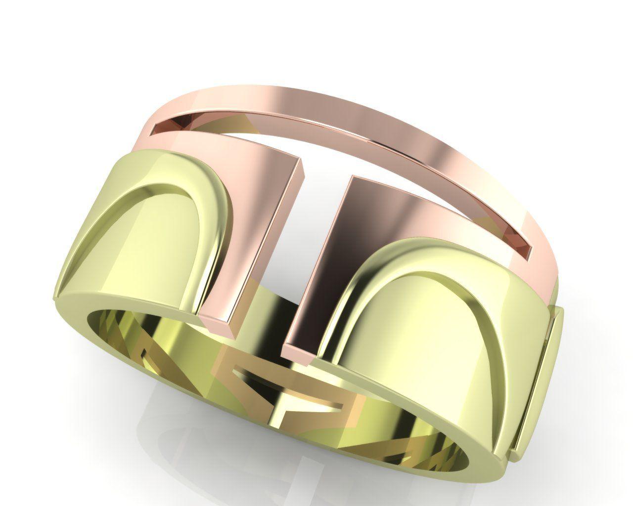star wars wedding rings Boba Fett Star Wars engagement ring from Brilliant Earth