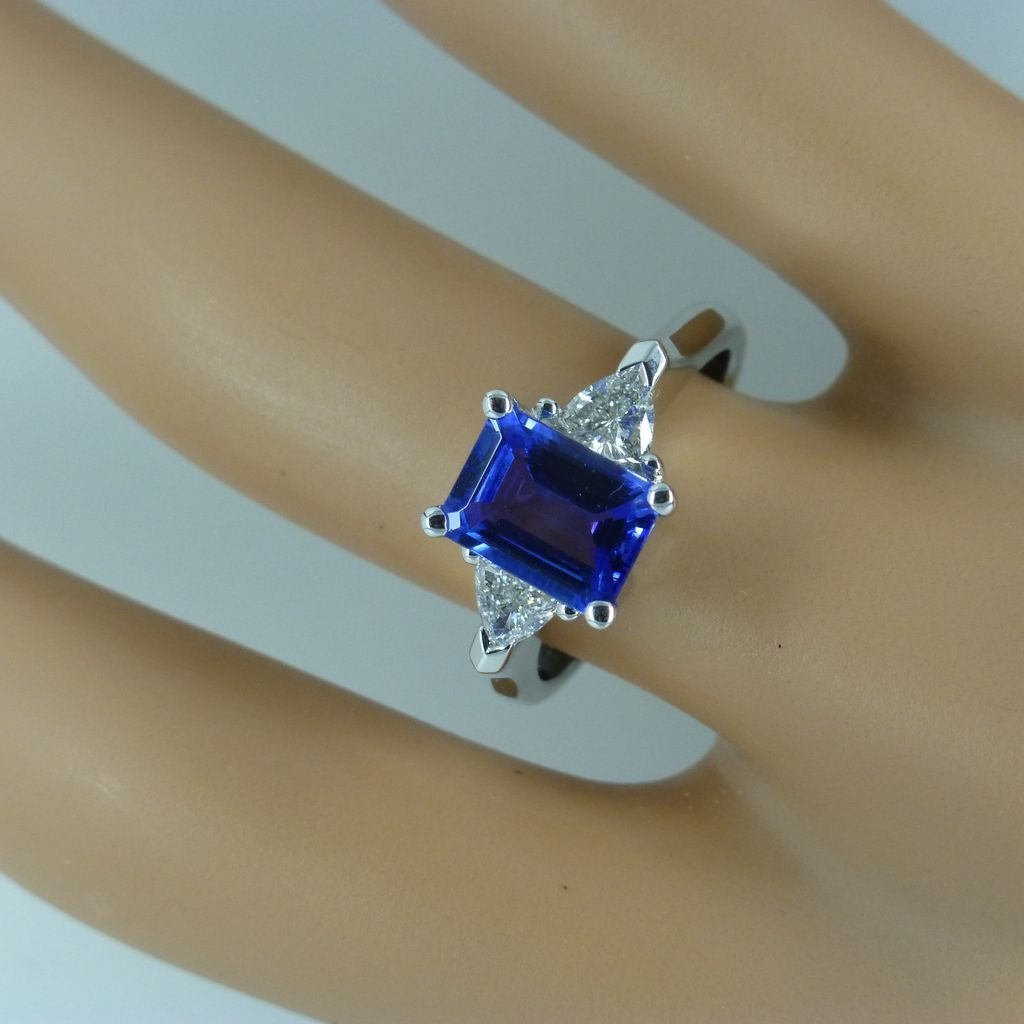 tanzanite wedding rings The most Beautiful Tanzanite Diamond Ring