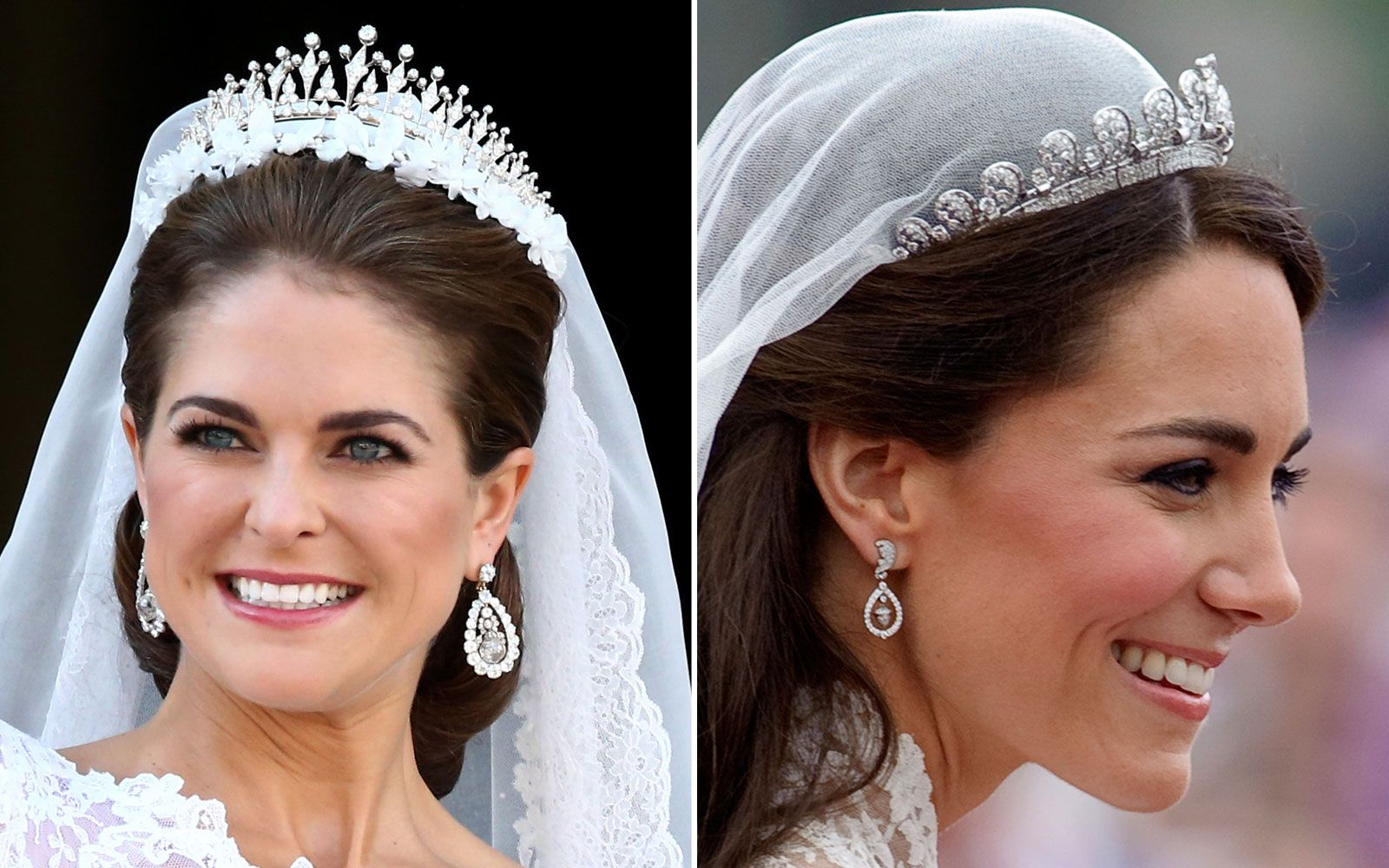 princess kate wedding ring Royal Wedding Dress Off Kate vs Princess Madeleine
