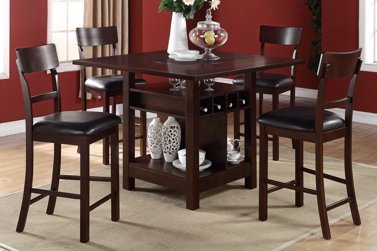 high kitchen table sets the breakfast nook kitchen table Counter Height Dining Table Chairs