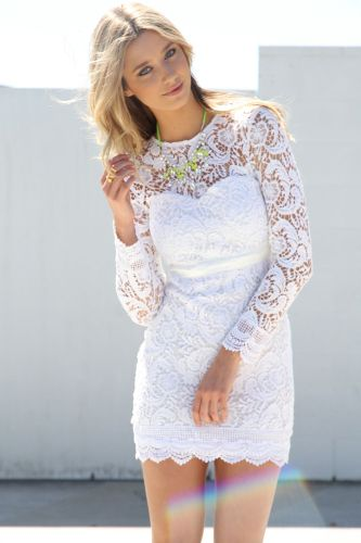 short white wedding dresses short white wedding dress with long sleeves hair down