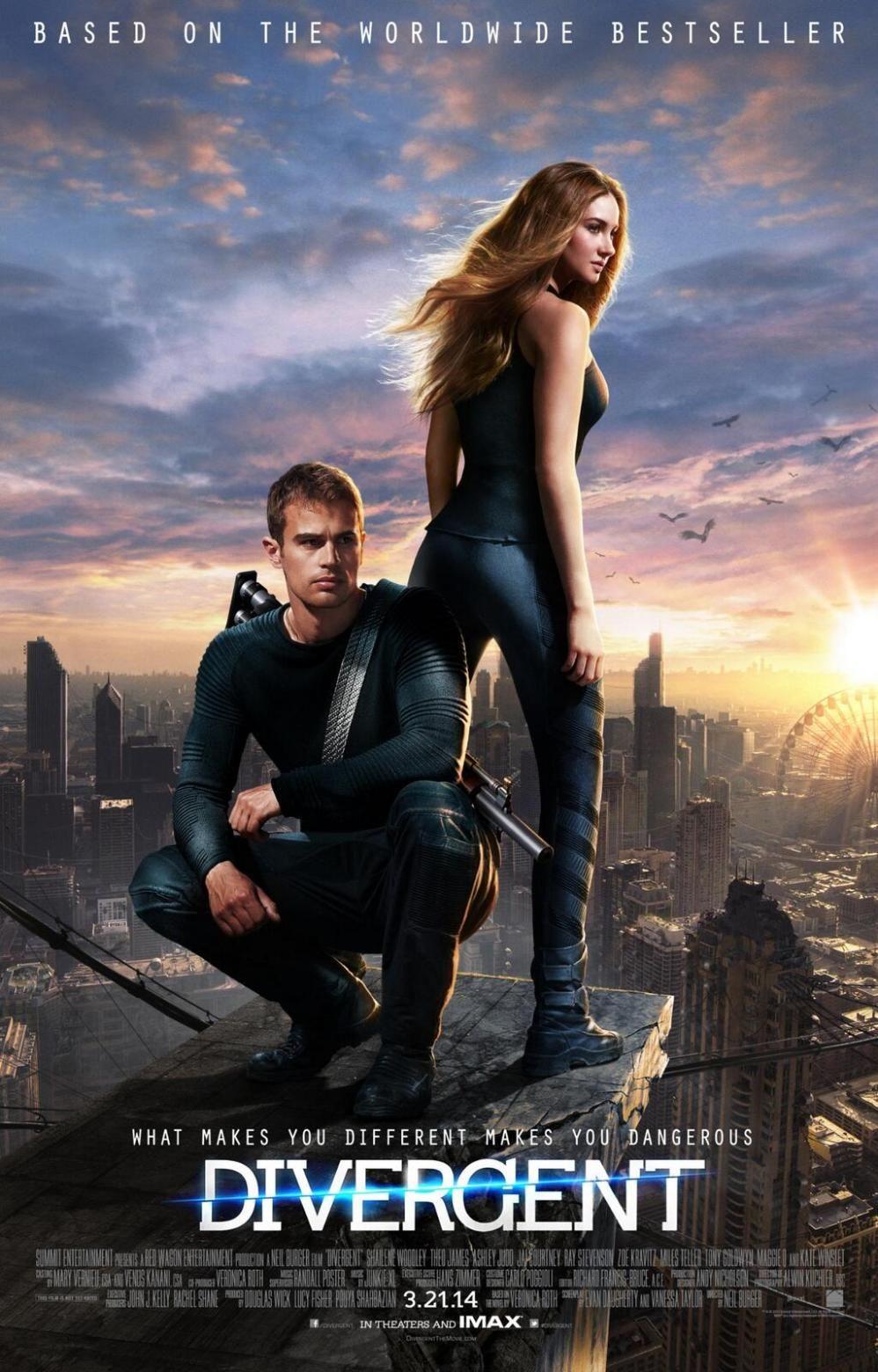 Poster do filme Divergente