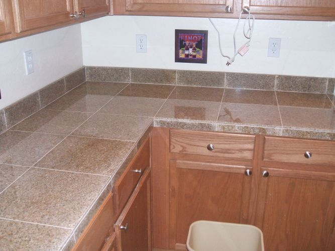kitchen countertop tile Find this Pin and more on Tile Kitchen Counter Tops