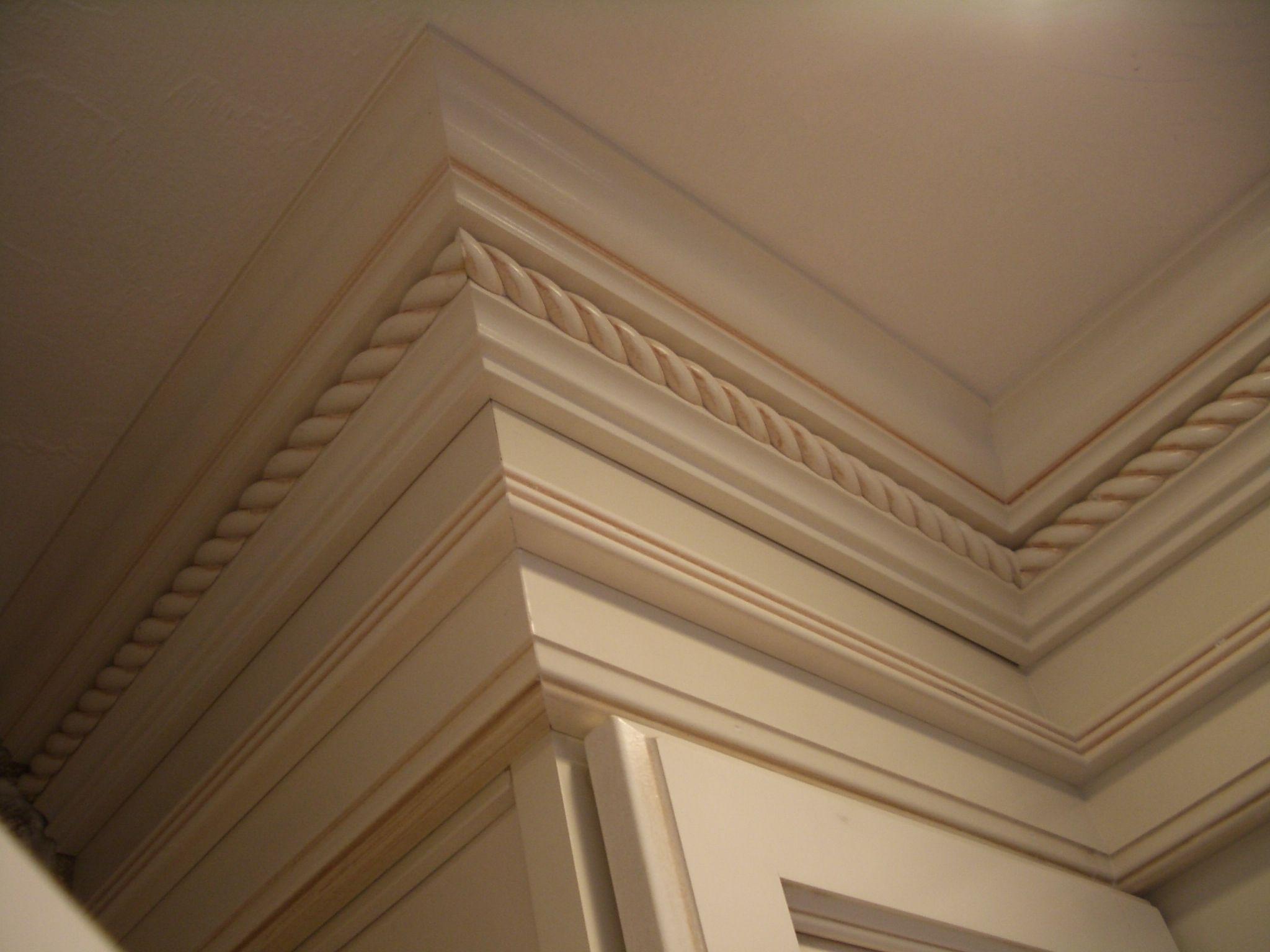diamond kitchen cabinets Painted cabinets crown rope molding moulding kitchen trim antique paint