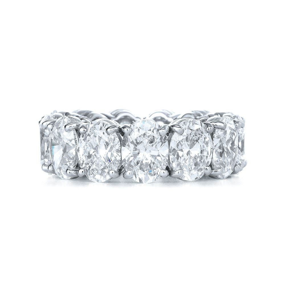 eternity wedding bands King Jewelers Oval Cut Diamond Eternity Band King Jewelers draws strength from their long held tradition of excellence in design craftsmanship